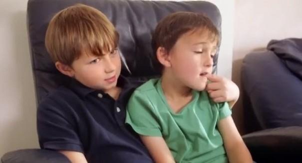 צ'רלי והארי חמש שנים אחרי פרסומת