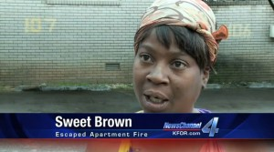sweet brown commercial