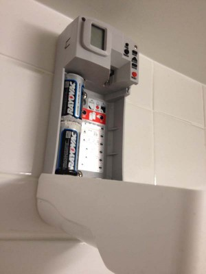 Air-freshener-in-the-bathroom