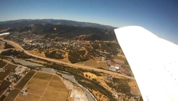 מצלמה פועלת  נפלה ממטוס