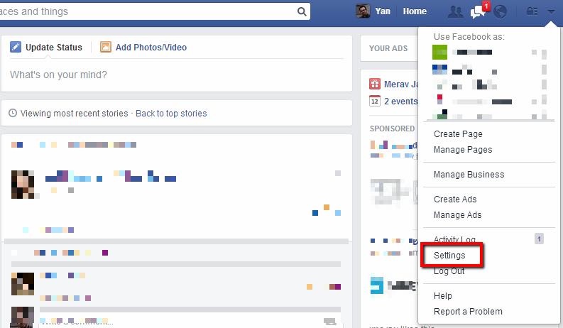 מניעת פריצה לפייסבוק 1