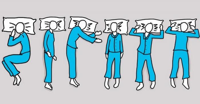 תנוחות שינה ראשי