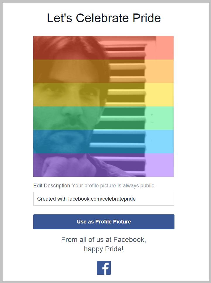 פייסבוק חוגגת גאווה 2