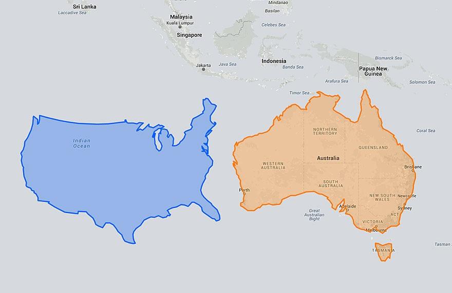 מפות מעוותות 1