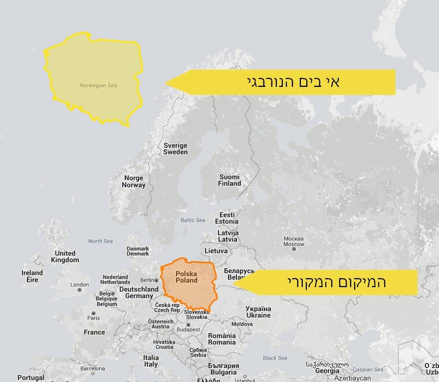 מפות מעוותות 18
