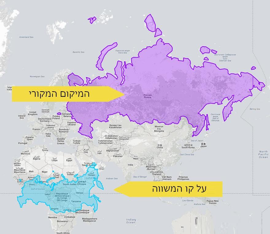 מפות מעוותות 2