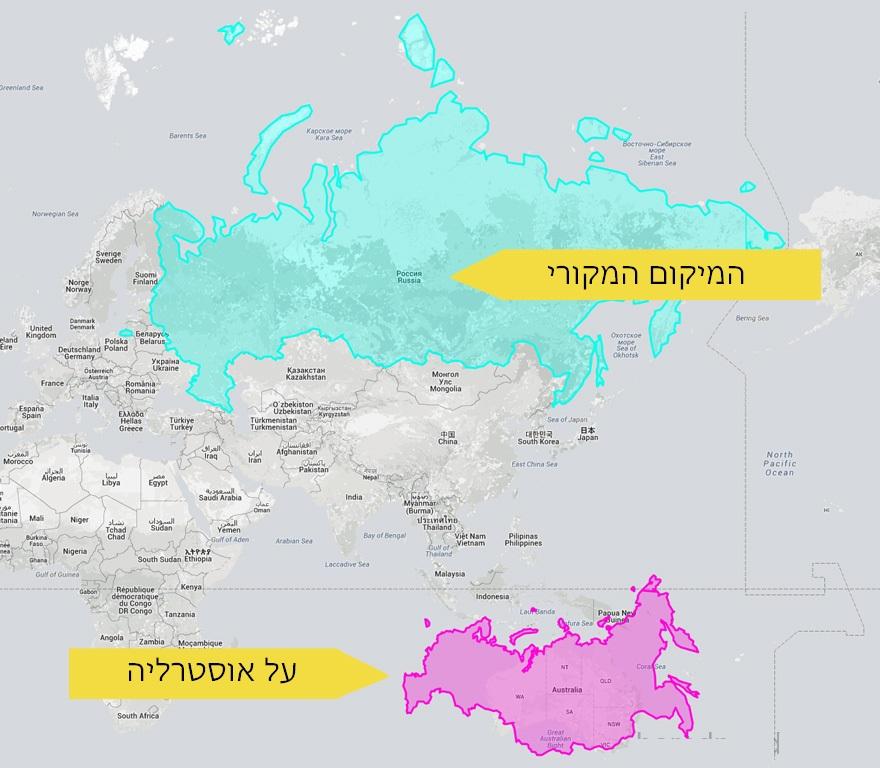 מפות מעוותות 21