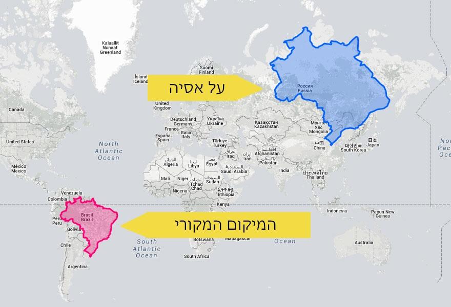 מפות מעוותות 6