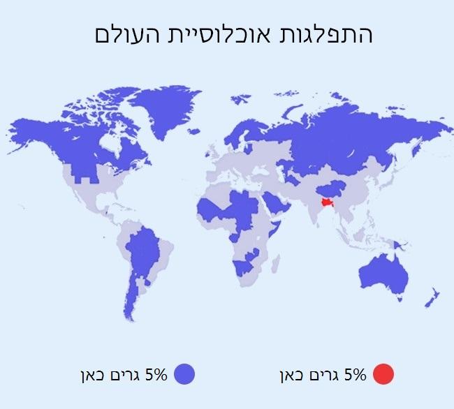 מפות אוכלוסיה 2