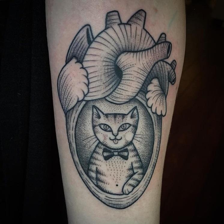 קעקועים של חתולים 6