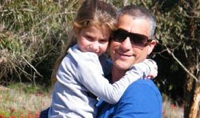 הסטטוס העצוב שכתב דורון לזכר בתו שנפטרה, על הקיר של אברהם טל