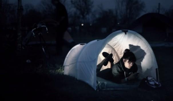 אוהל שקית זבל 2