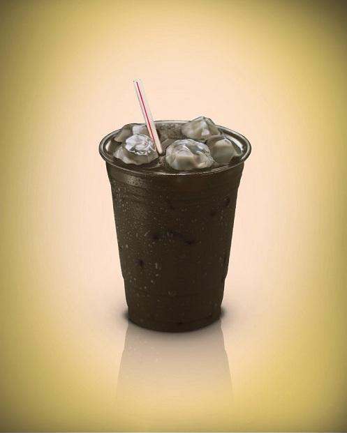 אייס קפה שחור