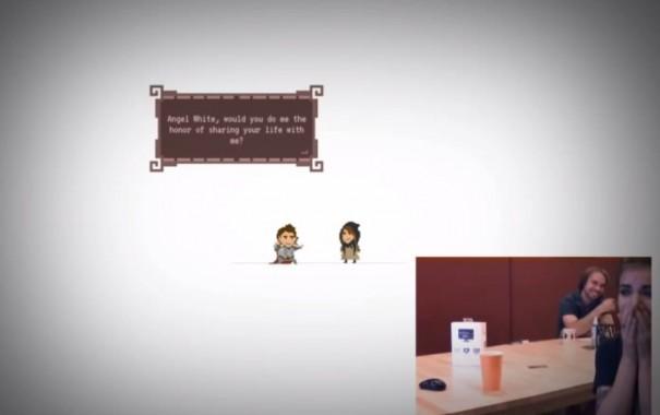 הצעת נישואין משחק וידאו הסוף