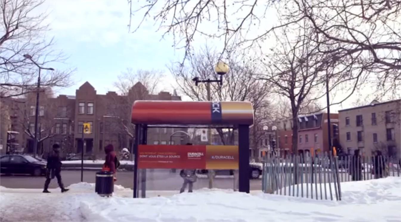 תחנת אוטובוס מחוממת דורסל