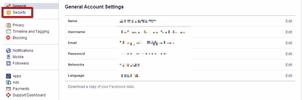 מניעת פריצה לפייסבוק 2