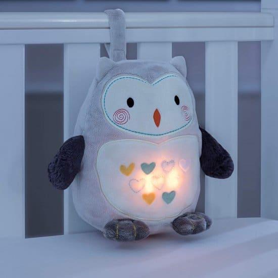 מנורת לילה לילדים - ינשוף